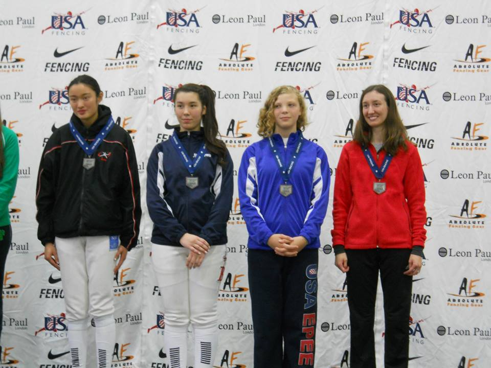 Olympia Fencing Center Gold Medalist At The Summer