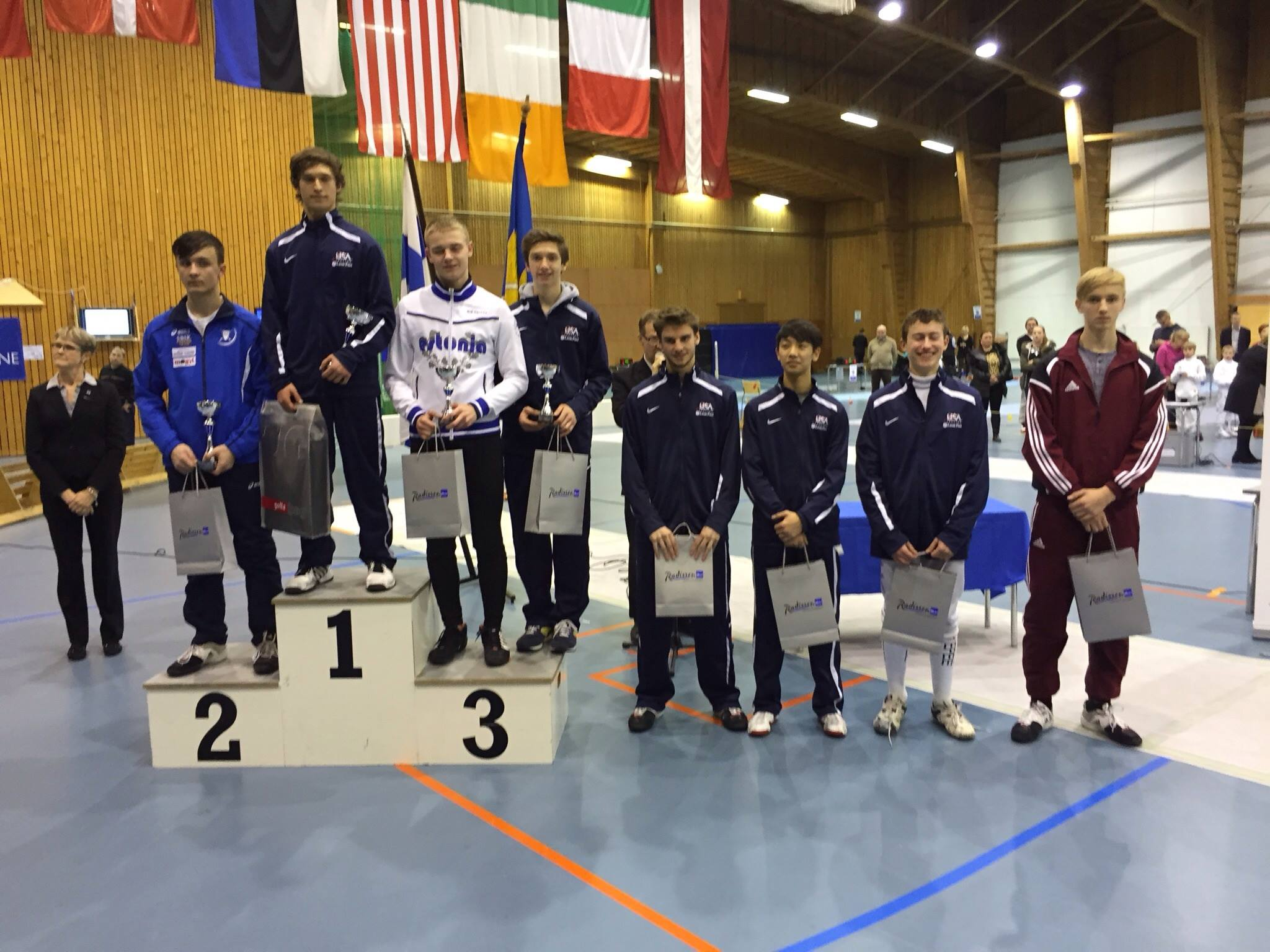 Olympia S Fencer Places Seventh At The European Cadet