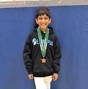 Bronze medal, Y10 ME