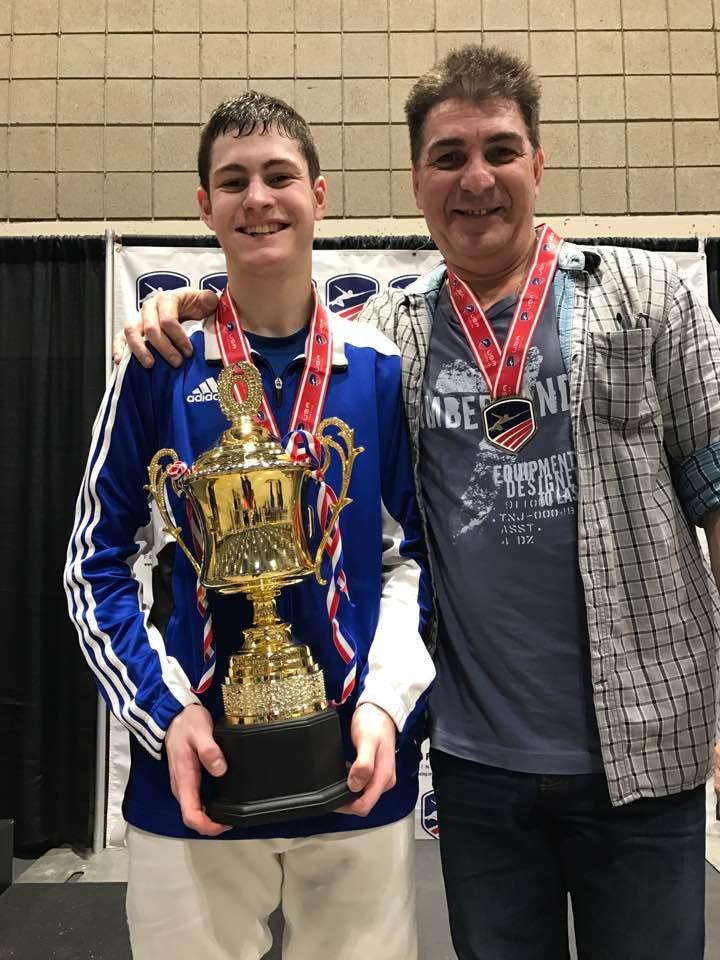 Robert Hondor JO 2017 Champion