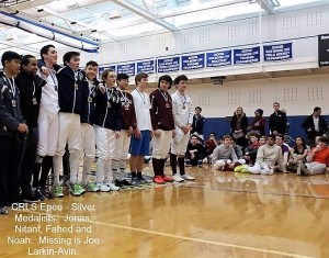Epee Fencing State Champions