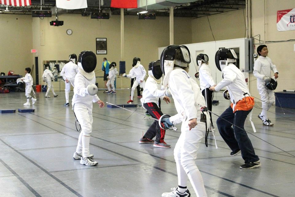 Greater Boston Fencing Camp | Olympia Fencing Center