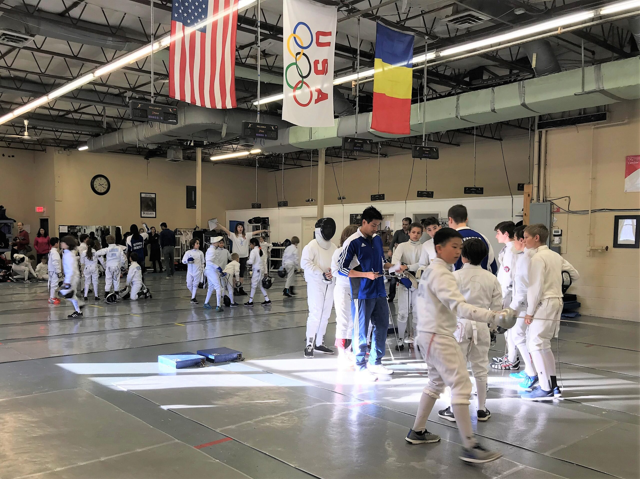 Youth Fencing Program | Olympia Fencing Center