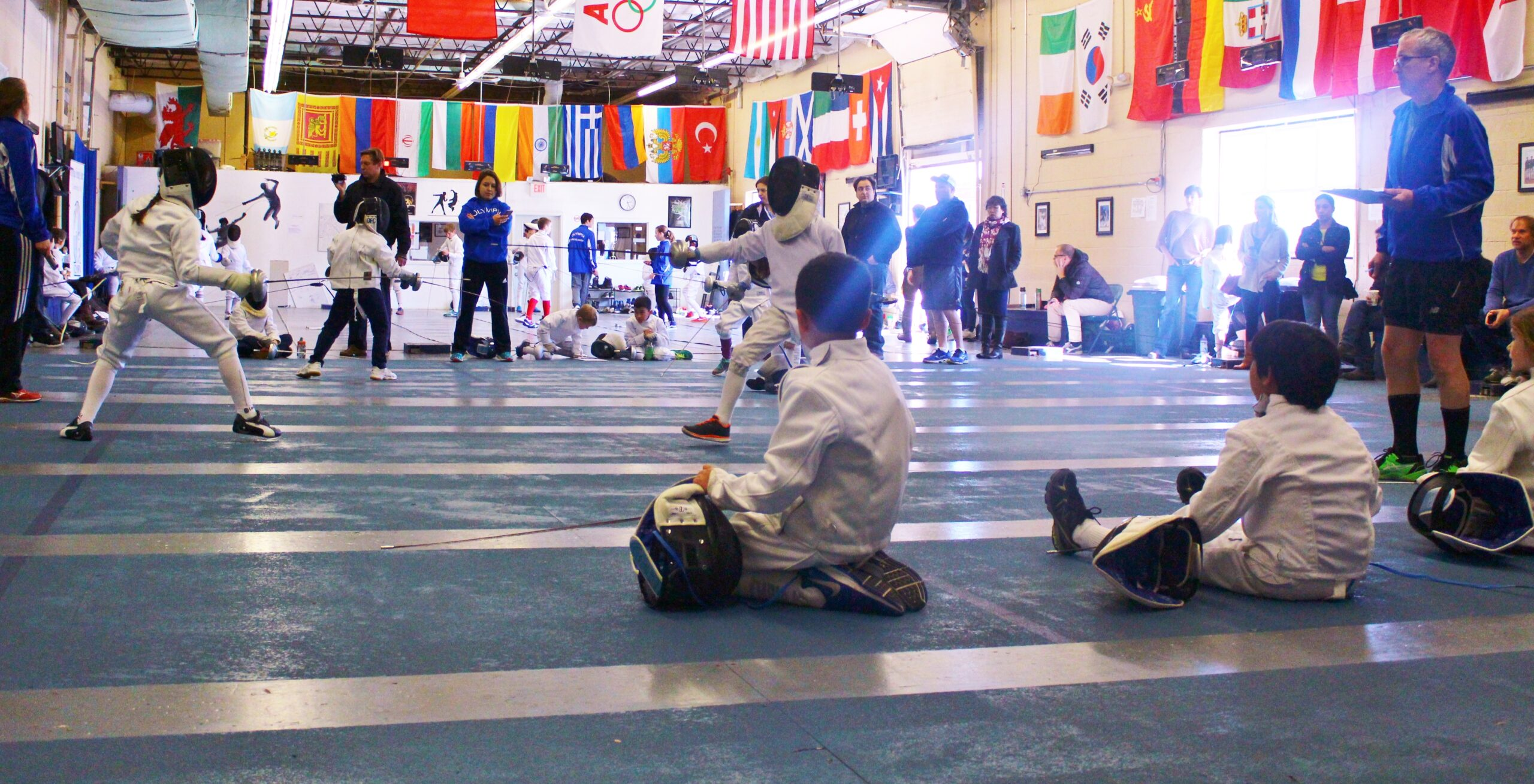 Greater Boston Youth Fencing | Olympia Fencing Center