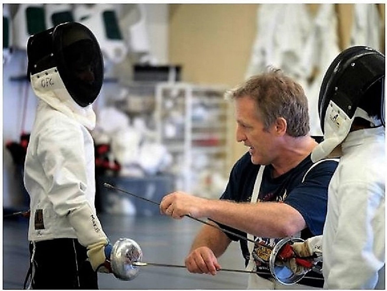Free Fencing Class | Olympia Fencing Center