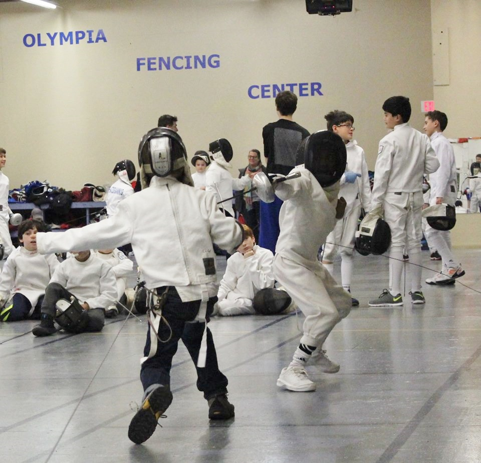Open Fencing Time in Cambridge MA | Olympia Fencing Center